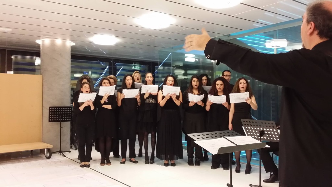 Eklipsis vocal ensemble: Mauricio Kagel: Open Days
